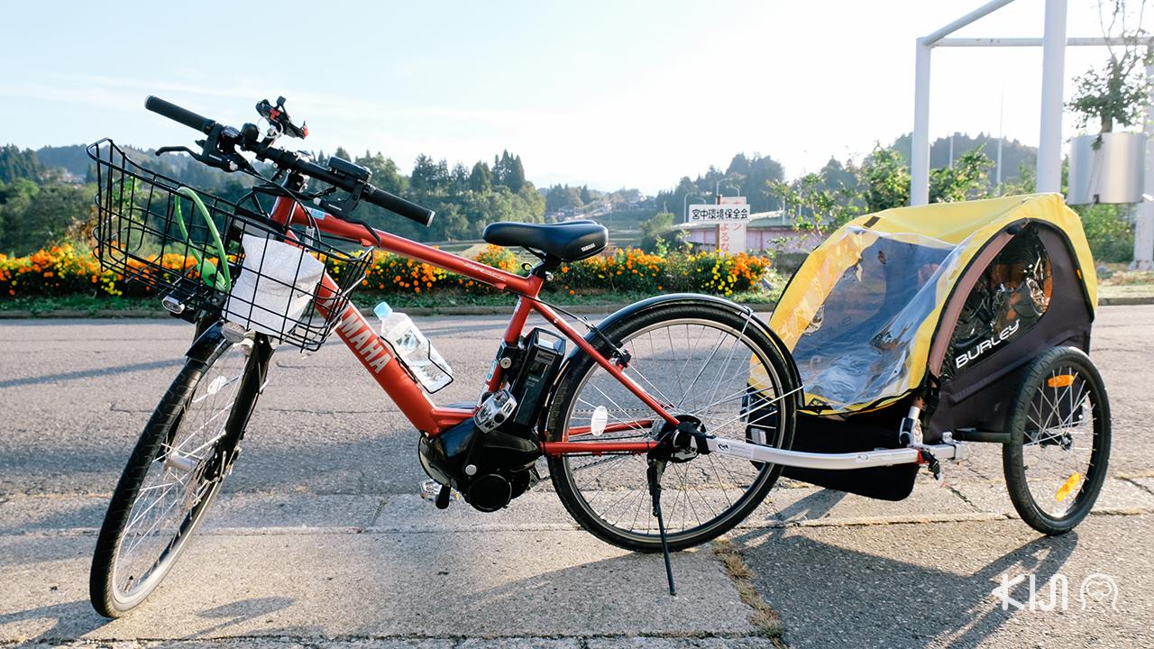 มาถึงจุดพักผ่อนแห่ง โทคามาจิ เช่าจักรยานที่มิออน นาคาซาโตะ