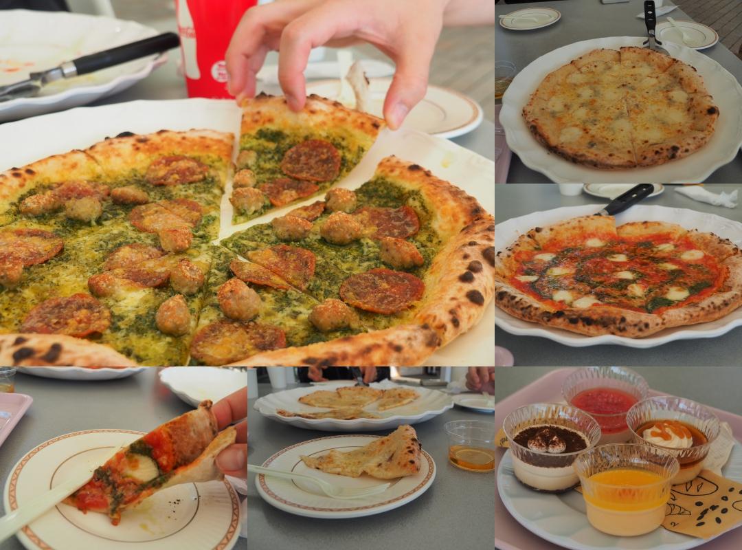 มื้อเที่ยงแสนอร่อยกับร้านพิซซ่าใน Hamamatsu Fruit Park Tokinosumika