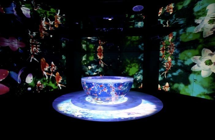 บรรยากาศภายใน Aquarium Space Travel UNDER WATER SPACE