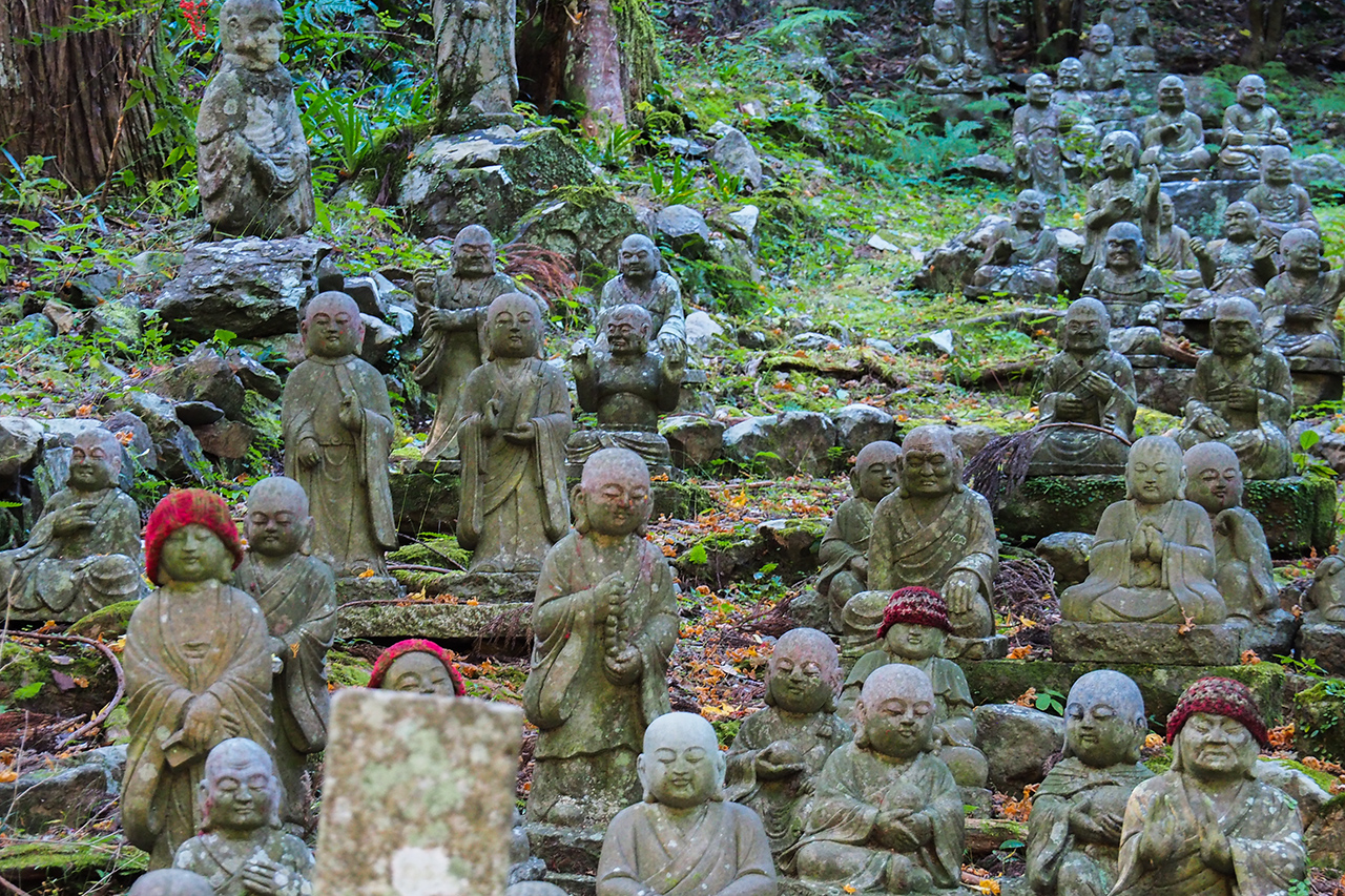 เที่ยว Hamamatsu : ชมพระพุทธรูป Rakan ที่วัด Houkouji