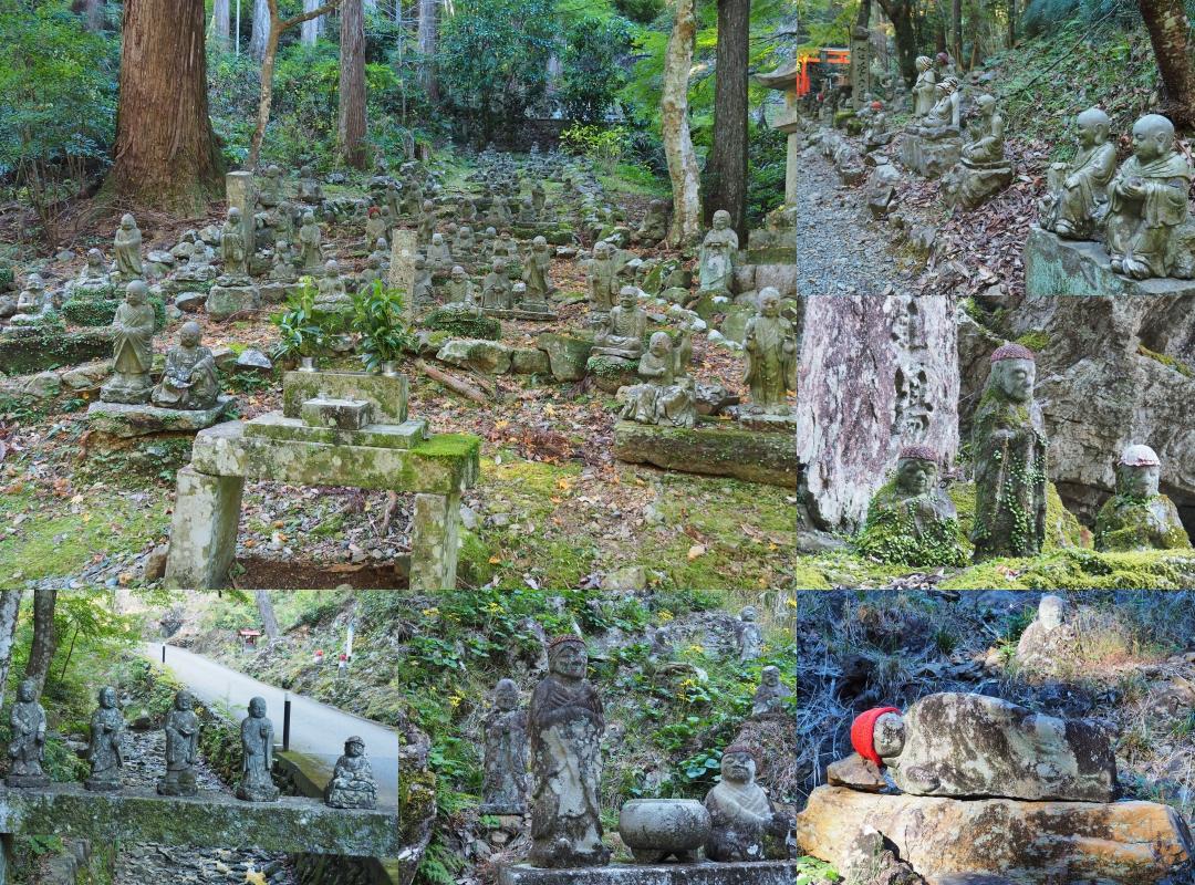 เที่ยว Hamamatsu : พระพุทธรูป Rakan กว่า 500 องค์ในวัด Houkouji