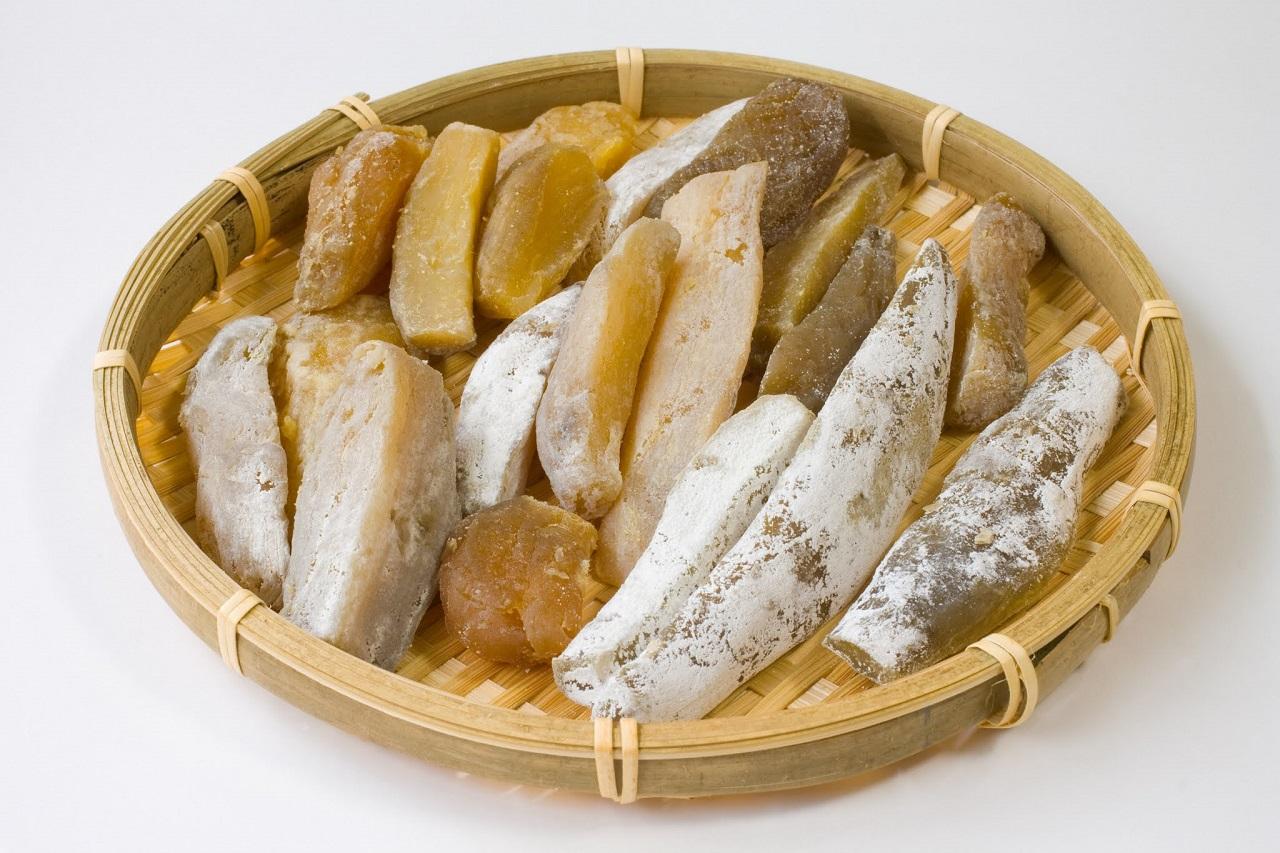 อาหารท้องถิ่น จ. อิบารากิ (Ibaraki) - โฮชิอิโมะ (Hoshi Imo)
