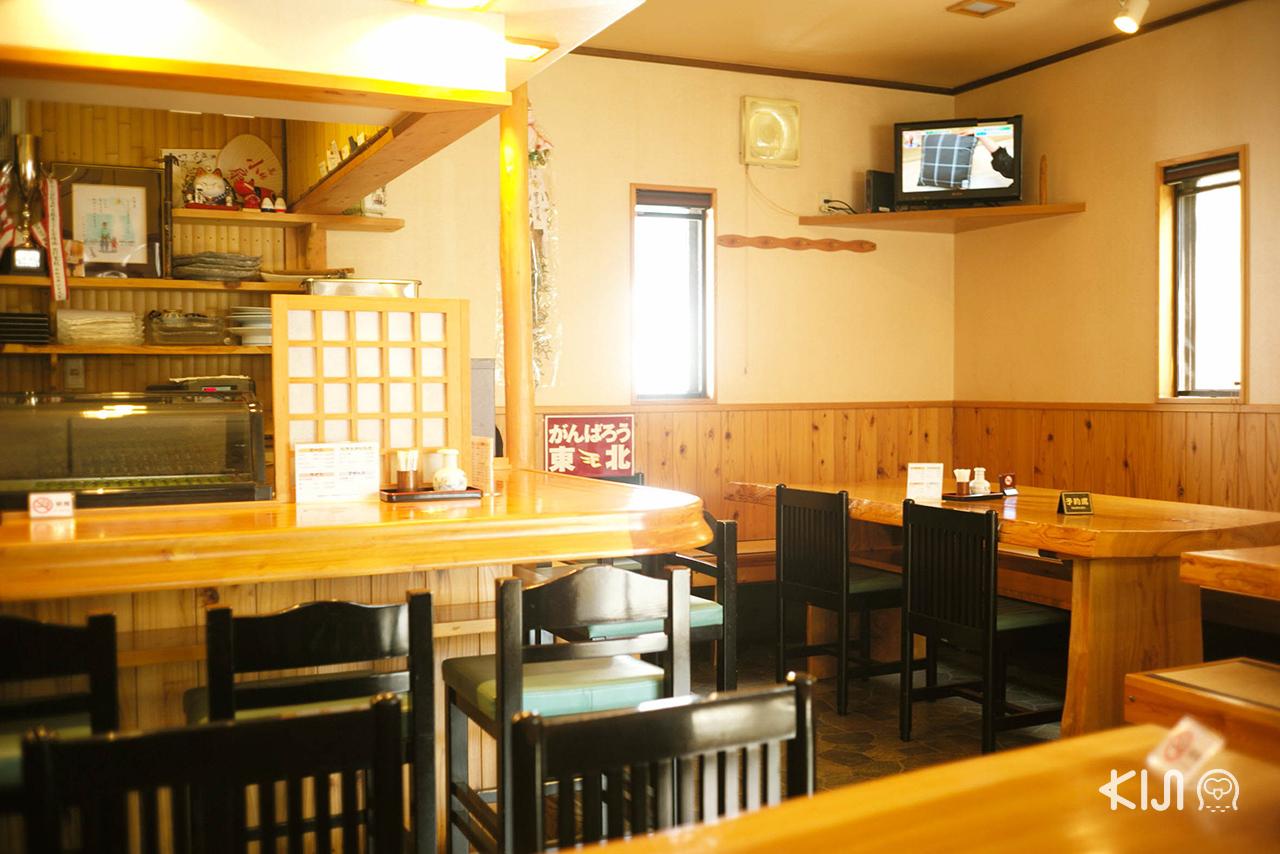 บรรยากาศภายในร้านอาหาร Matsushima Sushi Kou ที่มัตสึชิมะ (Matsushima)