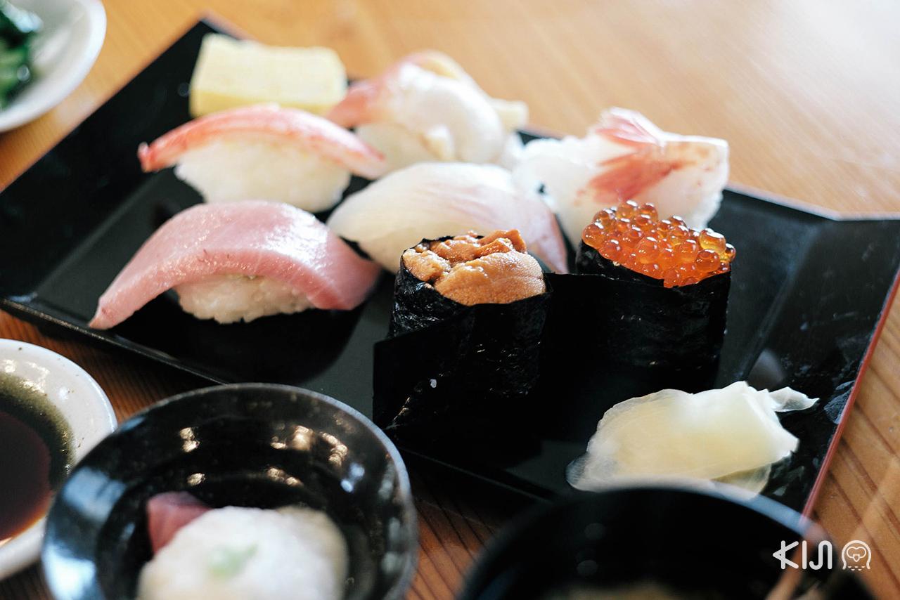 หน้าตาอาหารยั่วๆ หลังจากทริป ชมซากุระ ที่ มิยากิ