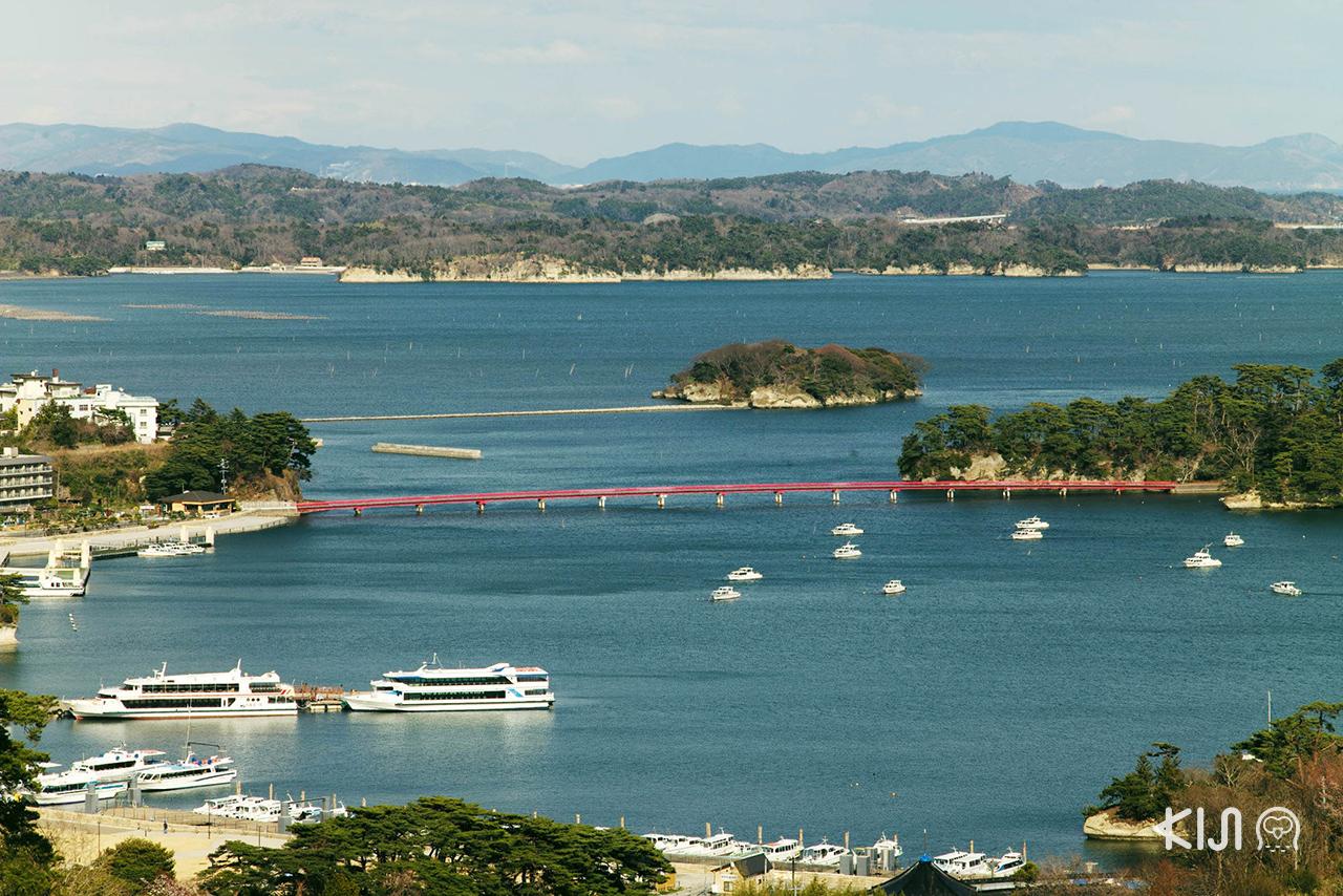 ที่เที่ยวมัตสึชิมะ (Matsushima) - ฟุกุอุระ (Fukuura Island)