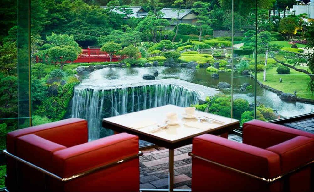 8 Afternoon Teas in Tokyo : Garden Lounge