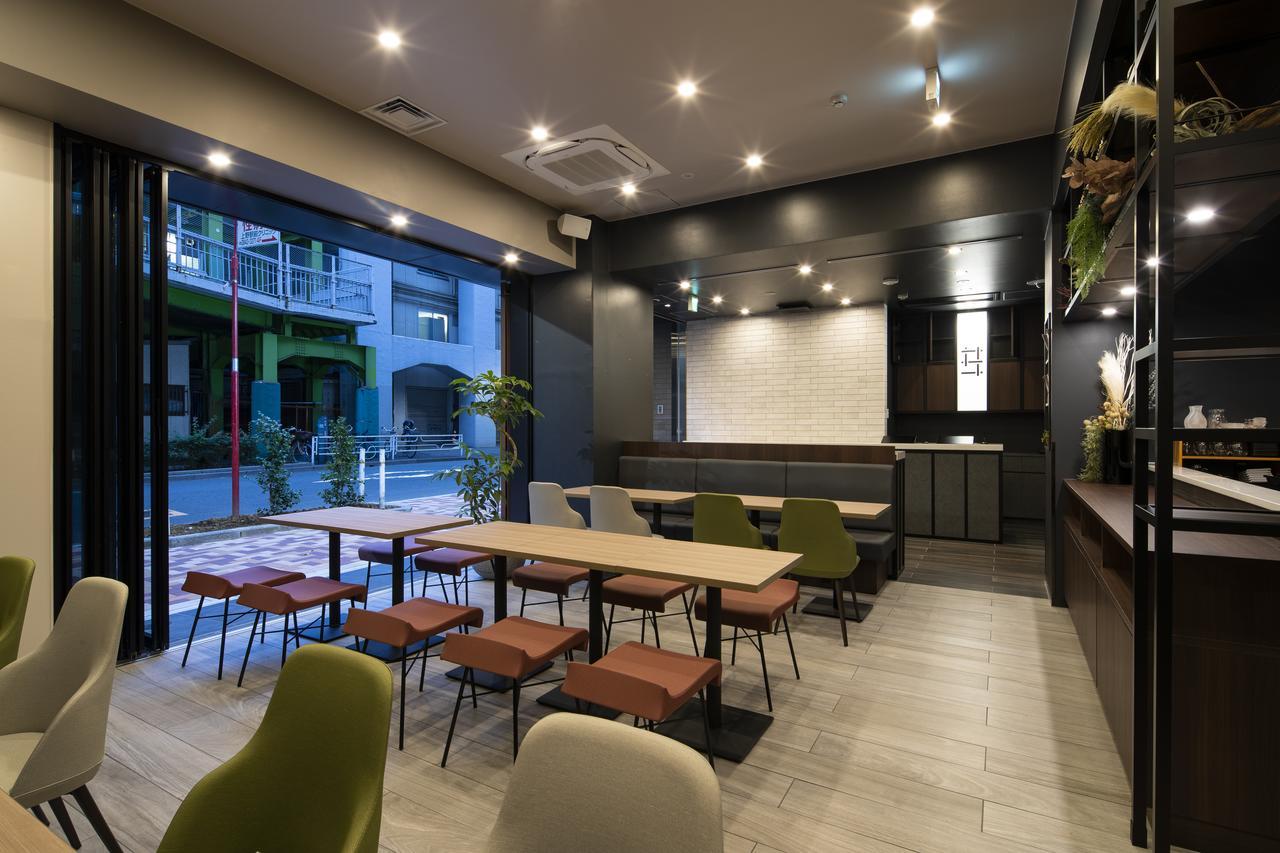 โฮสเทล ใน โตเกียว : บรรยากาศภายใน GRIDS HOTEL + HOSTEL