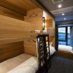 grids hostel, sleeping room, ueno, tokyo