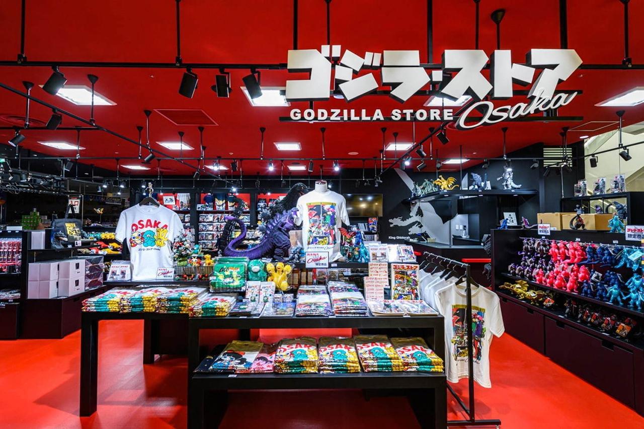 หนึ่งในร้านค้าของสาวกอนิเมะญี่ปุ่นภายใน PARCO Shinsaibashi