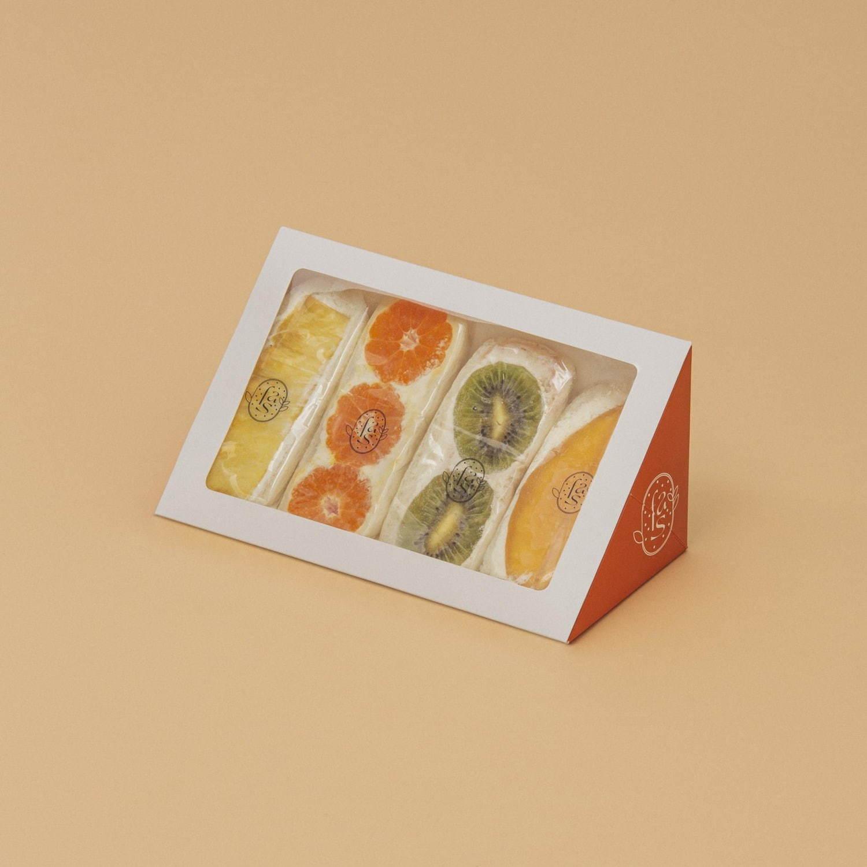 แซวนวิชวีแกนและแพ็คเกจจิ้งแสนจะน่ารักจากแบรนด์ fruits and season