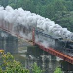 steam locomotive-hitoyoshi-spectacular view-japan
