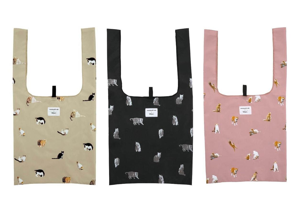กระเป๋าถือลายแมวสุดน่ารักจาก Masayuki Oki×Wpc.
