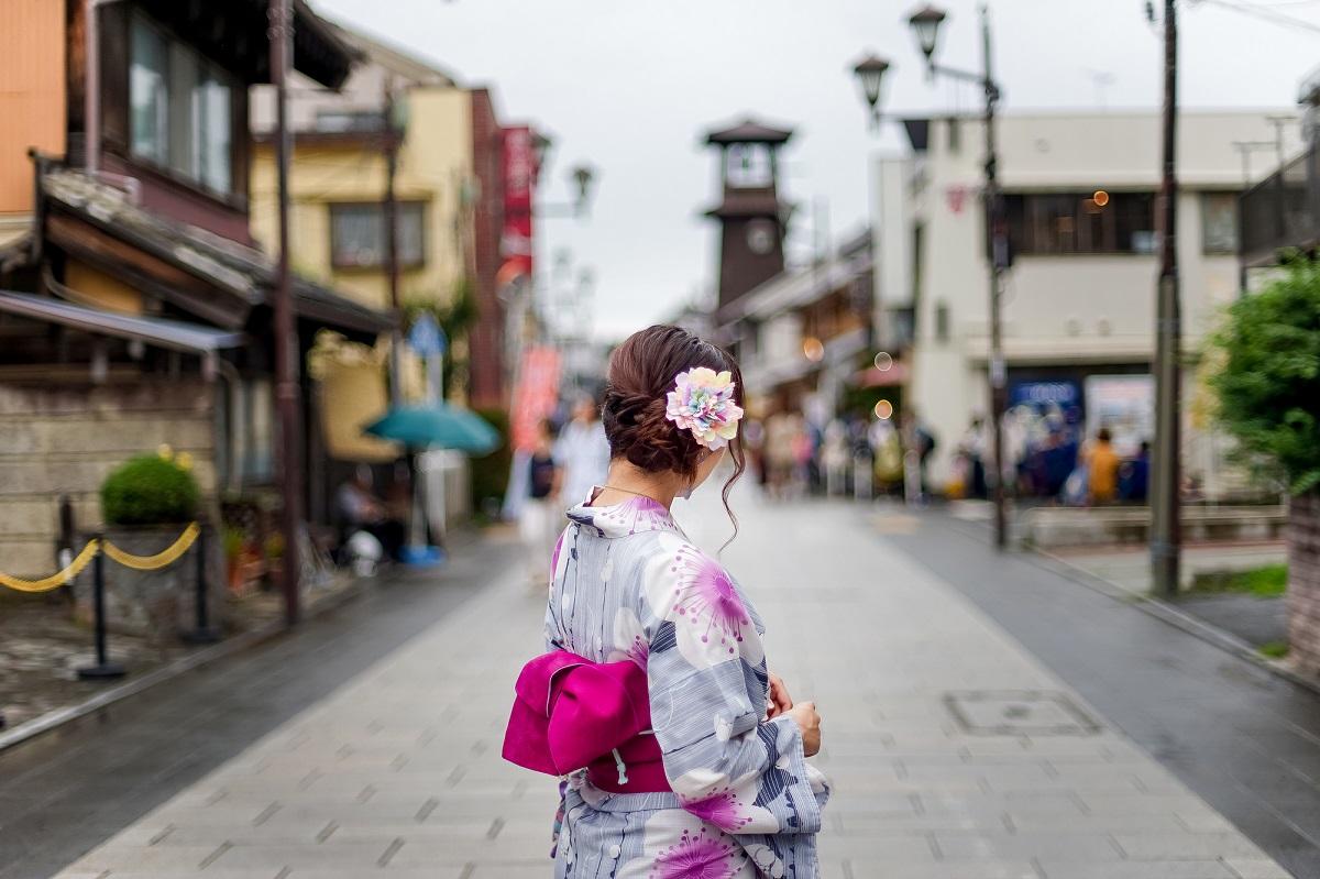 กิจกรรมห้ามพลาดใน จ.ไซตามะ (Saitama) ฤดูใบไม้ร่วง - ใส่ชุดกิโมโนเดินเล่นที่เมืองคาวาโกเอะ