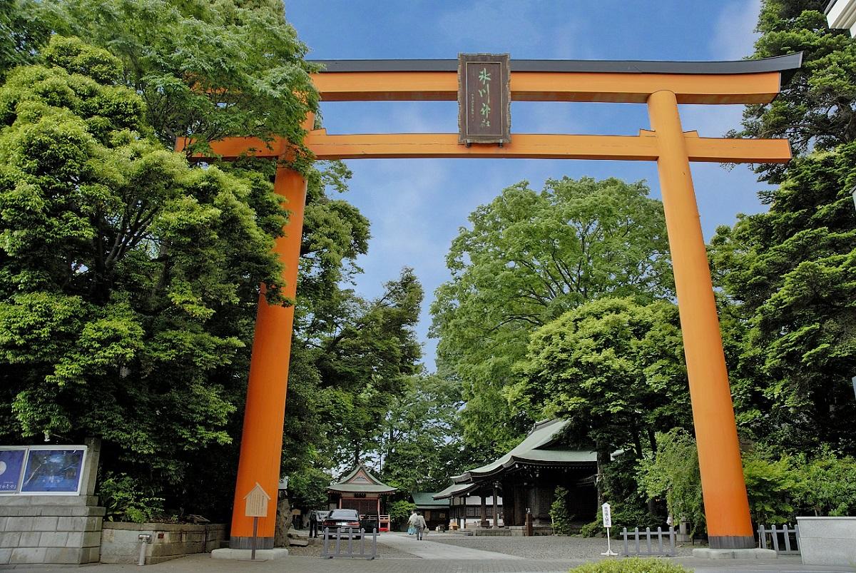สถานที่เที่ยวจ.ไซตามะ (Saitama) ฤดูใบไม้ร่วง - ศาลเจ้าคาวาโกเอะ ฮิกาวะ (Kawagoe Hikawa Shrine)