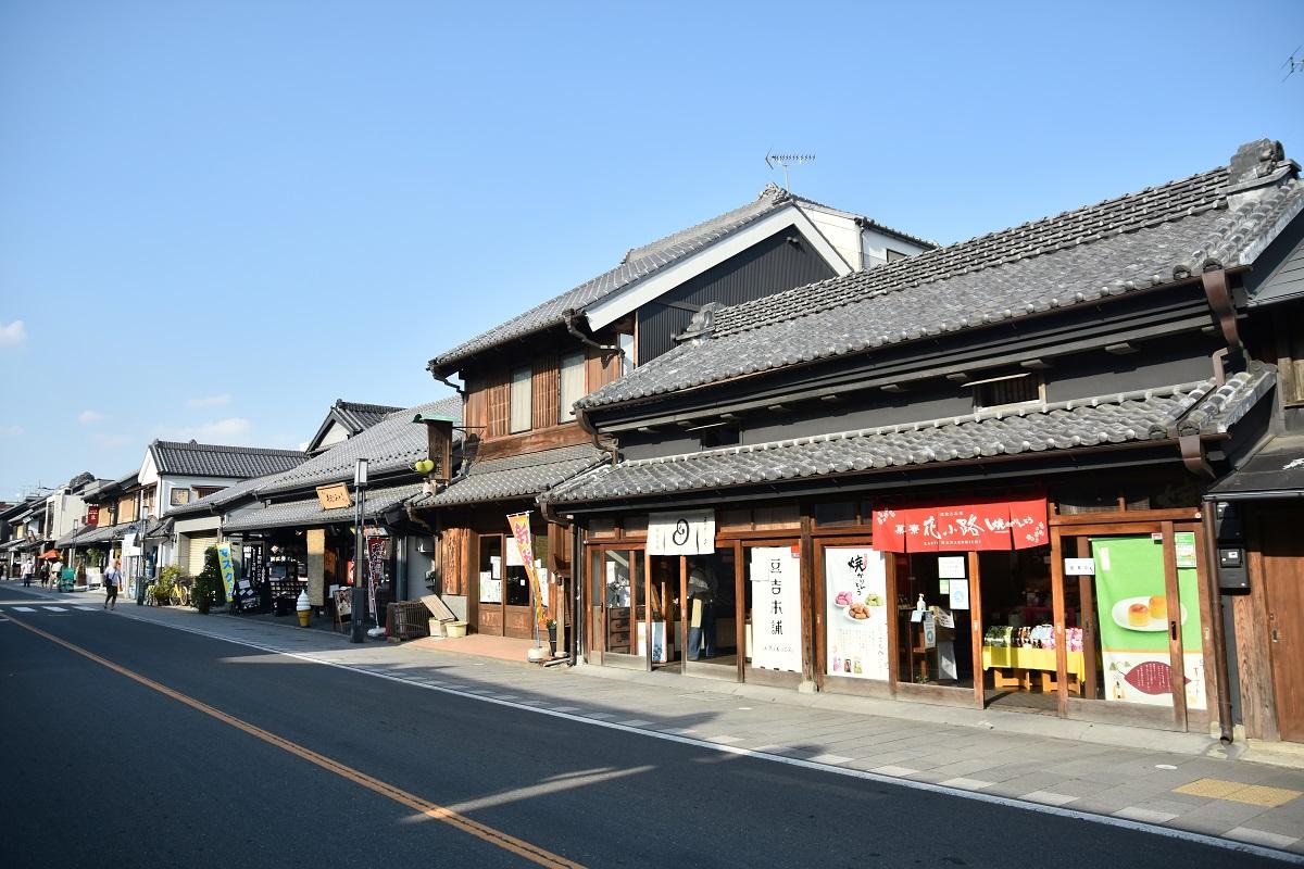 เที่ยวเมืองคาวาโกเอะ (Kawagoe) จ.ไซตามะ (Saitama) ฤดูใบไม้ร่วง