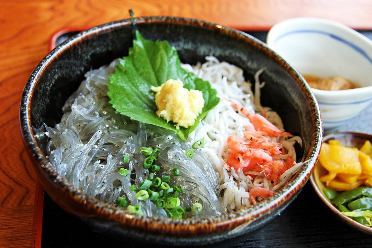 อาหาร เมืองฟูจิซาวะ จ.คานางาวะ - Nama Shirasu Don