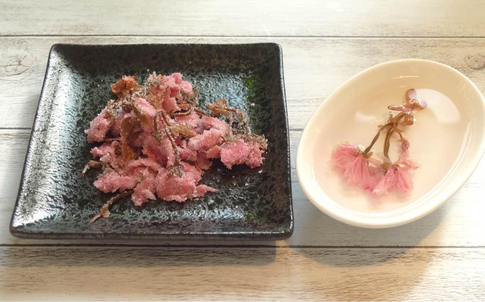 อาหารท้องถิ่น เมืองโอดาวาระ จ.คานางาวะ - Sakura no Hanazuke