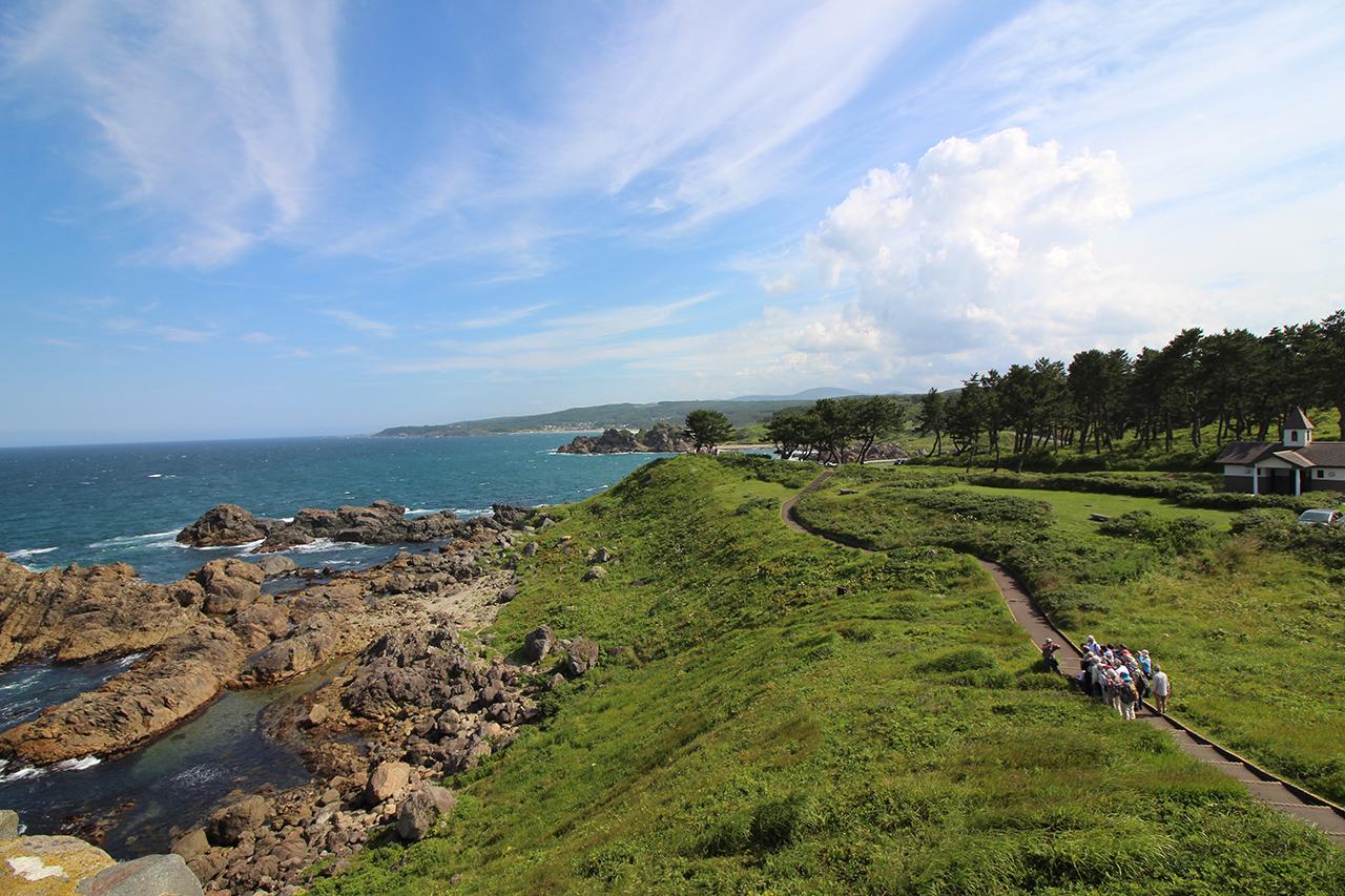 """กิจกรรม ฤดูร้อน ในภูมิภาค """"โทโฮคุ"""" - เดินเทรลริมชายฝั่งมหาสมุทรแปซิฟิก Michinoku Coastal Trail"""