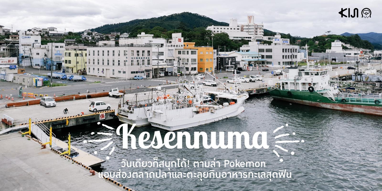 เมืองเคเซ็นนุมะ (Kesennuma) จ.มิยากิ (Miyagi)