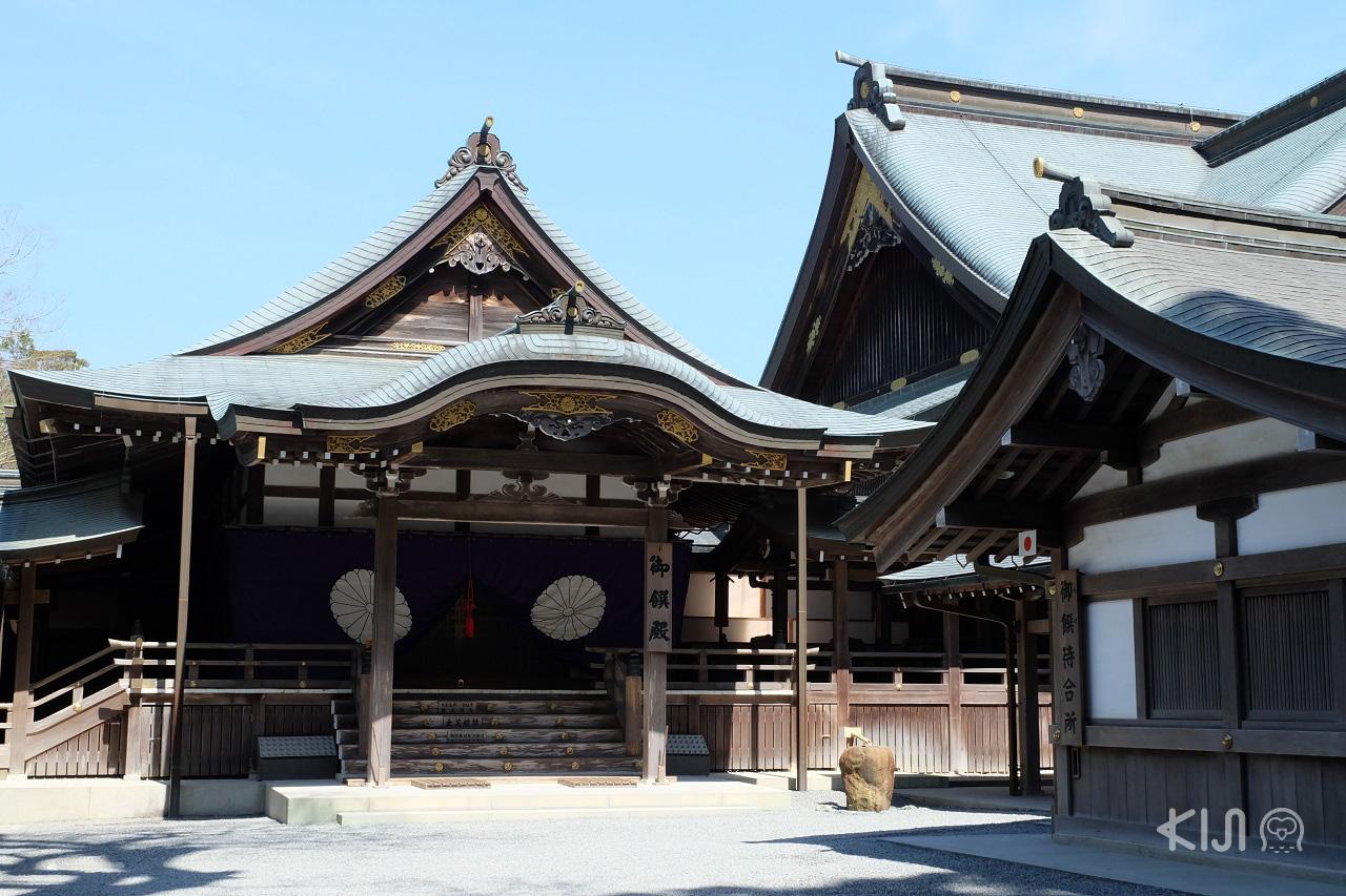 จุดน่าเช็คอินในชูบุกับ TOYOTA Rent a Car - ศาลเจ้าอิเสะ (Ise Grand Shrine)