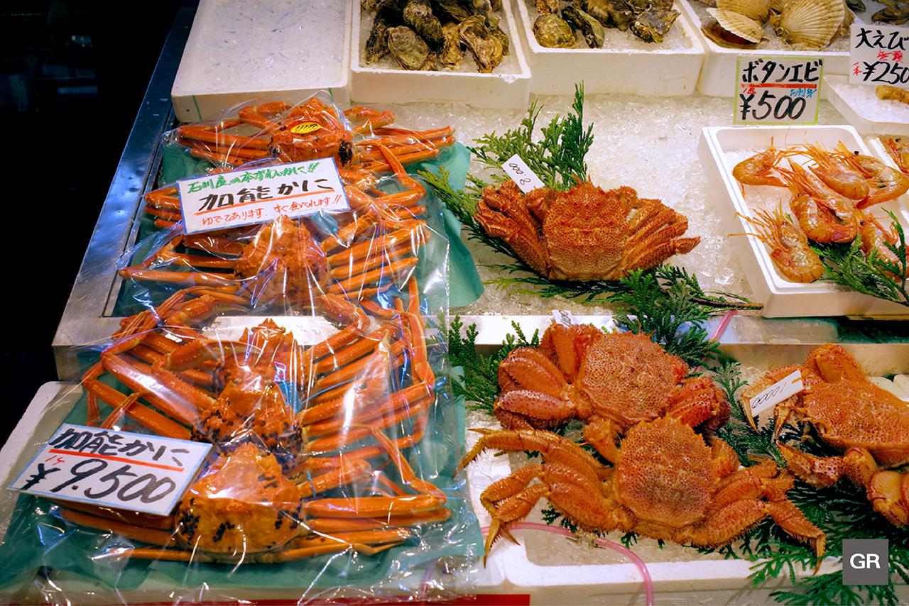 อาหารทะเลสดๆ ส่งตรงจากท่าเรือประมงนานาโอะ (Nanao Port)