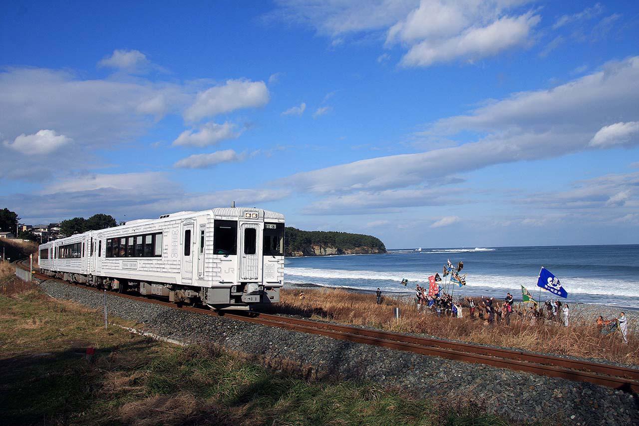"""เที่ยว """"โทโฮคุ"""" ช่วงต้น ฤดูร้อน โดยรถไฟ TOHOKU EMOTION"""