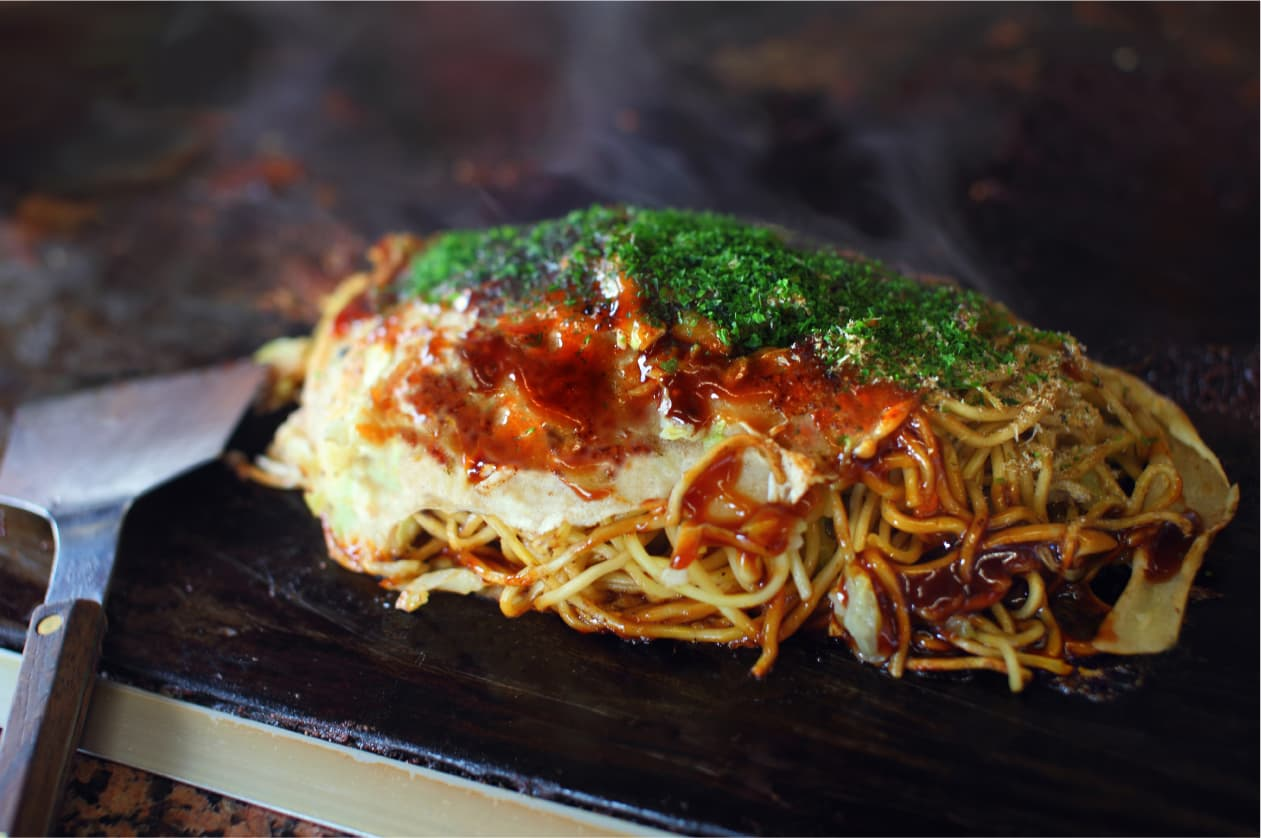 อาหารท้องถิ่น จ.เอฮิเมะ (Ehime) - Mitsuhamayaki