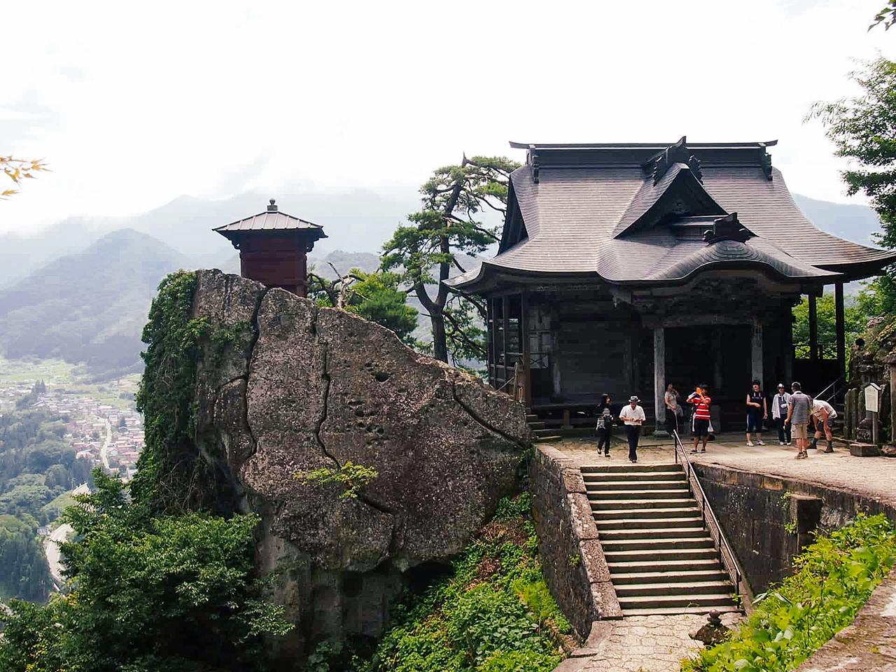 วัดยามาเดระ (Yamadera Temple) จ.ยามากาตะ