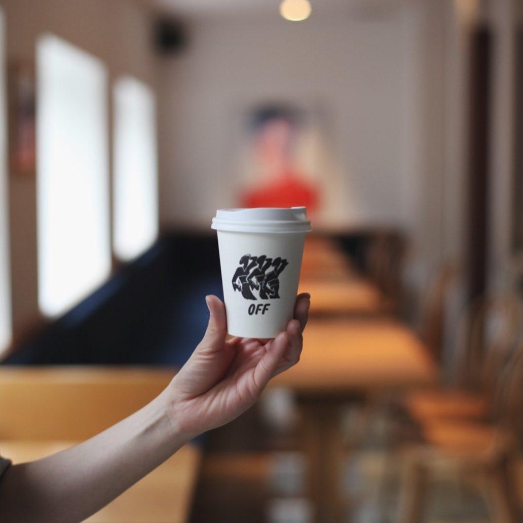เมนูเครื่องดื่มของคาเฟ่ OFF. Kinosaki