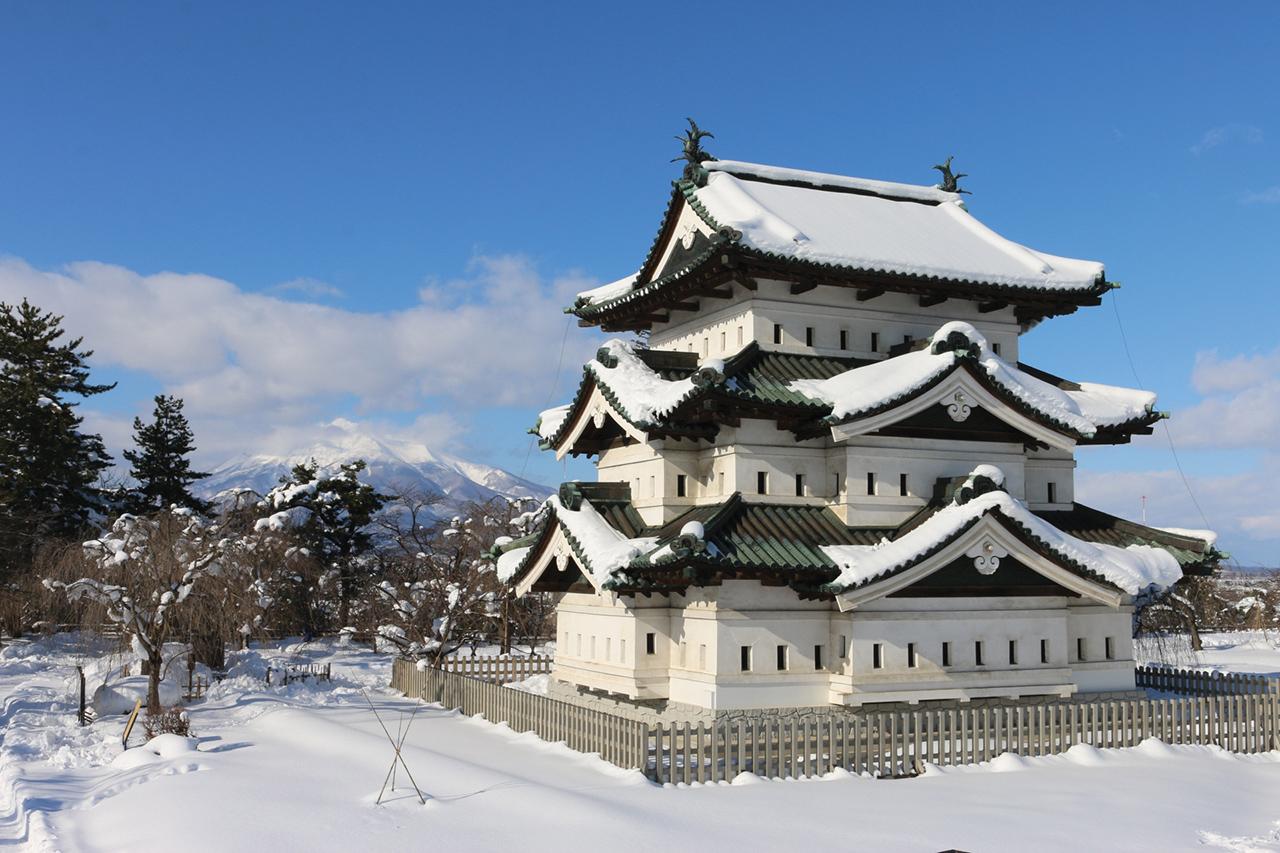 เที่ยว จ.อาโอโมริ (Aomori) โทโฮคุ (Tohoku) - ปราสาทฮิโรซากิ (Hirosaki Castle)