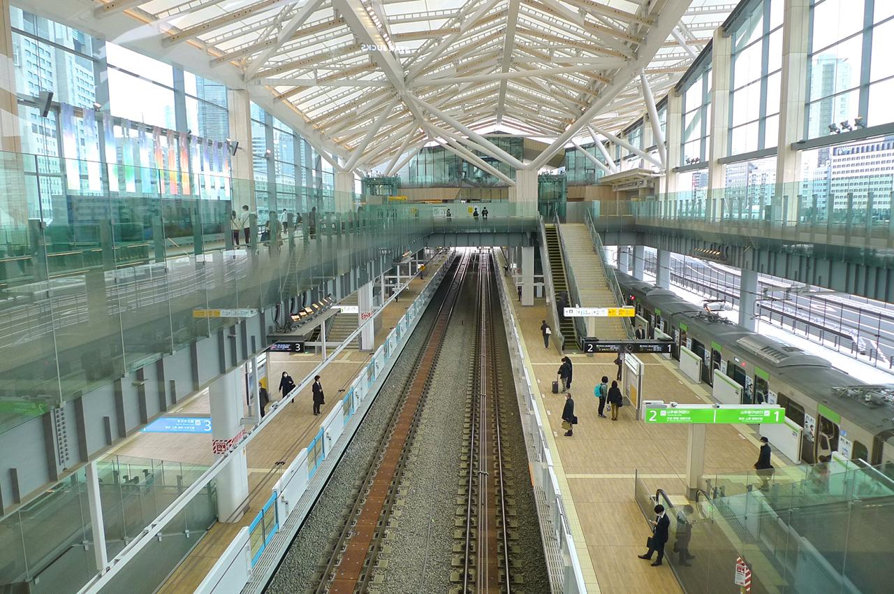 ภายในสถานี Takanawa Gateway