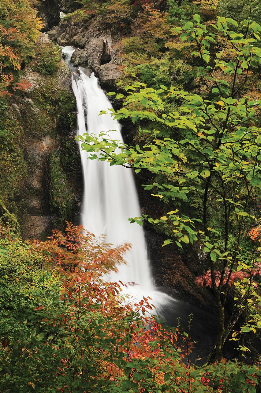 ที่เที่ยวมิยากิ (Miyagi) - น้ำตกอากิอุโอทากิ (Akiu Otaki Falls)