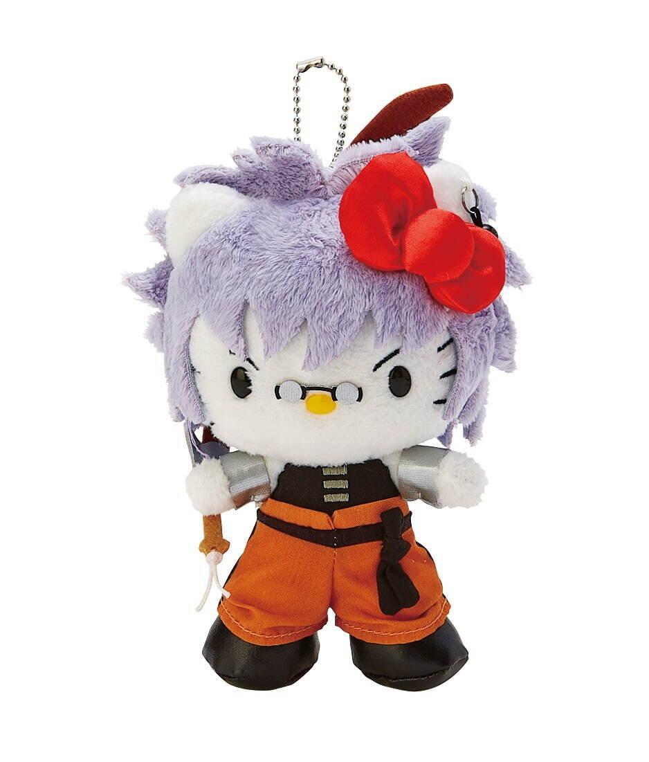 พวงกุญแจ Rurouni Kenshin x Hello Kitty ใน Sweets Paradise