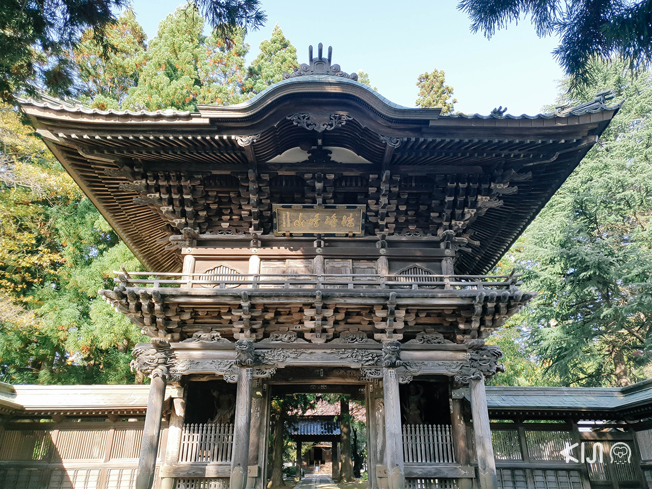 เที่ยว จ.อิวาเตะ (Iwate) - โฮออนจิ (Hoonji Temple)