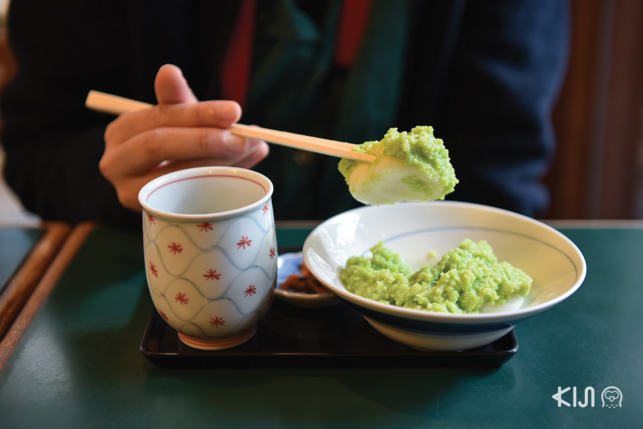 ถั่วซุนดะ หรือ ถั่วแระ (Zunda) อาหารท้องถิ่นเมืองเซนได จ.มิยากิ