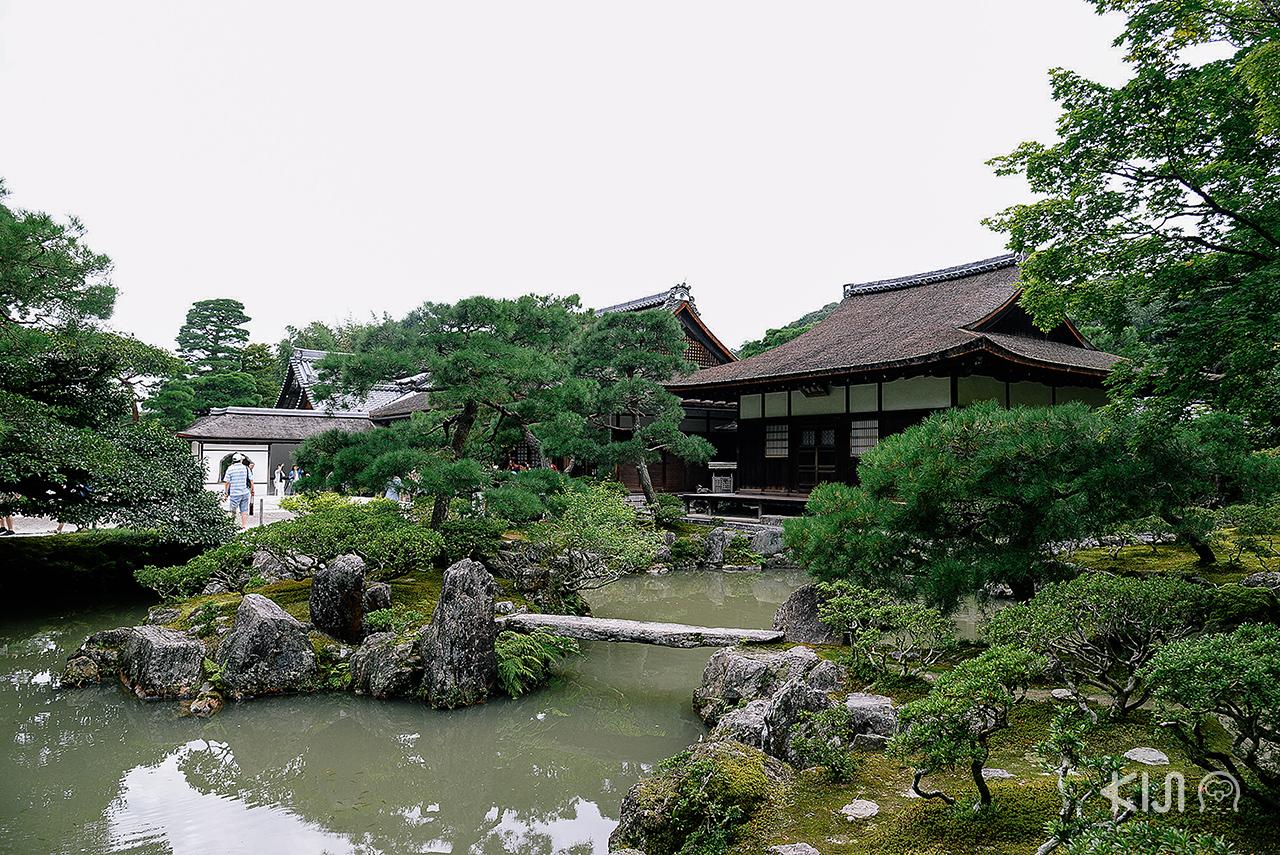 กินคะคุจิ (Ginkakuji Temple) วัดสำคัญในจังหวัดเกียวโต