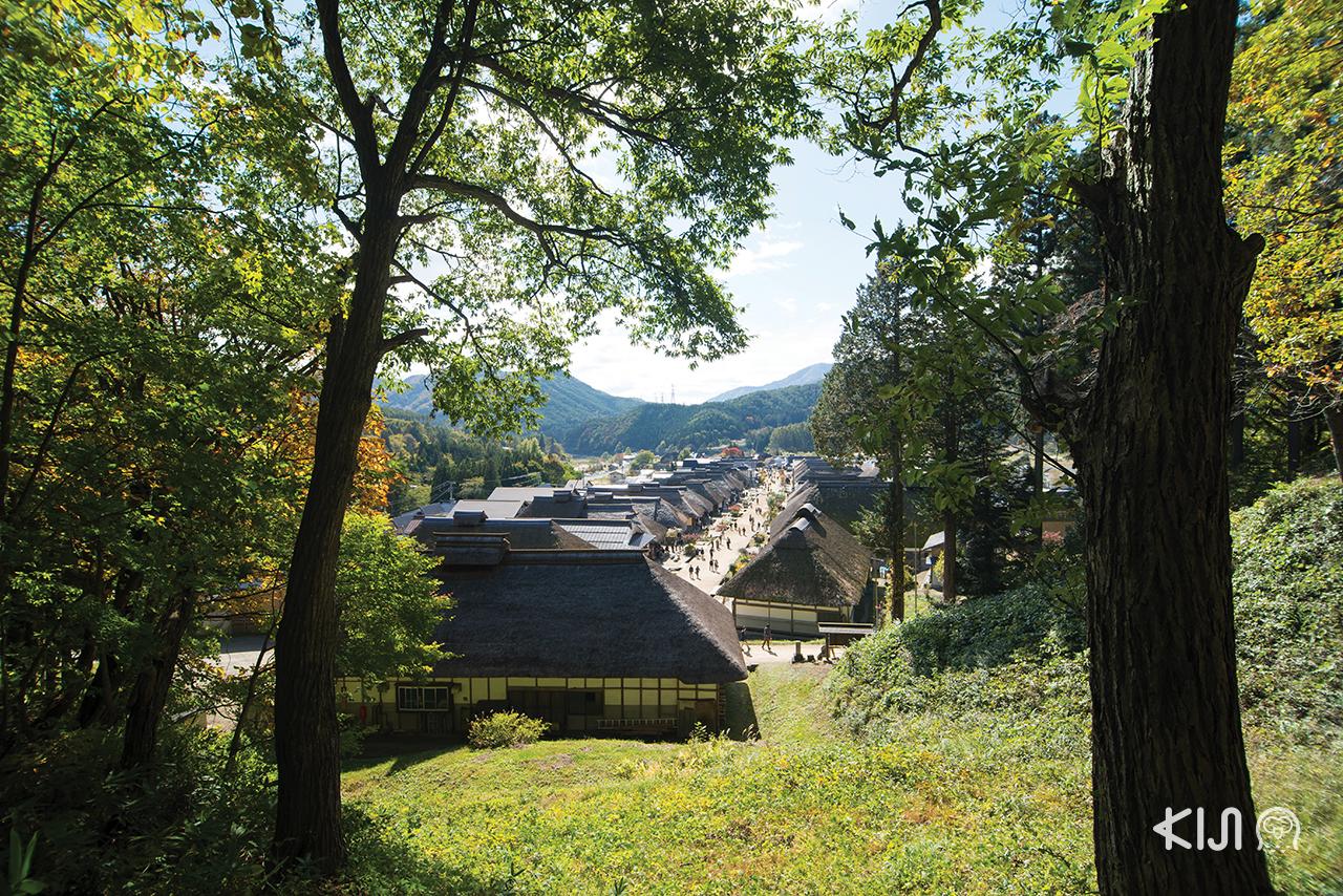 เที่ยว จ.ฟุกุชิมะ (Fukushima) - หมู่บ้านโบราณโออุจิจุคุ (Ouchi-juku)