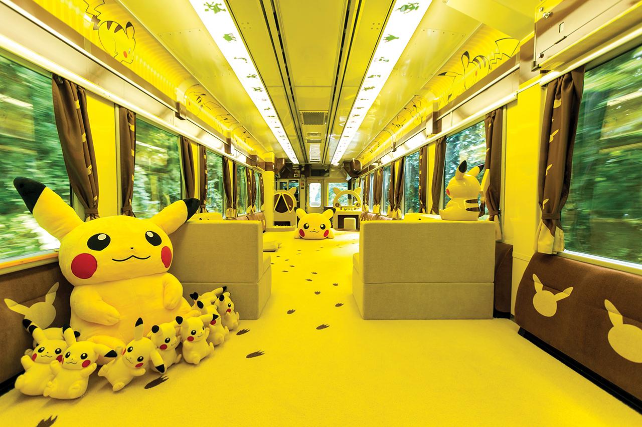 นั่งรถไฟ POKÉMON with YOU Train เที่ยวอิวาเตะ (Iwate)