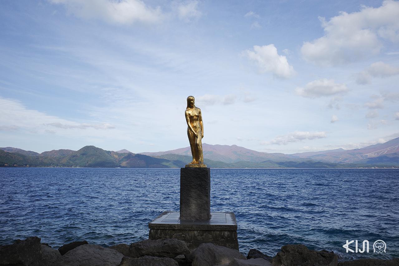 เที่ยวอาคิตะ พร้อมชมวิวสวยๆ ที่ Lake Tazawa