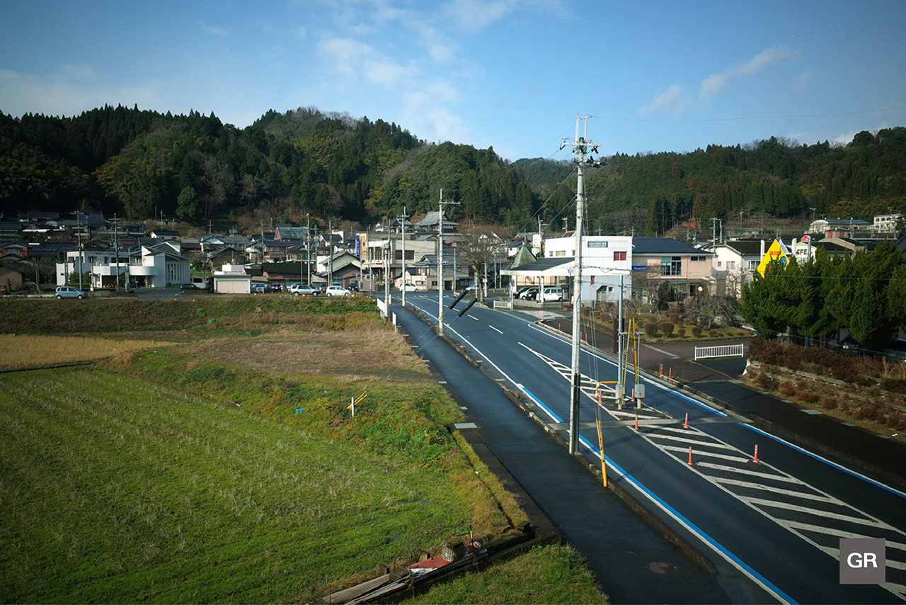ภาพถ่ายชนบทของ ญี่ปุ่น ด้วย กล้อง Ricoh GR