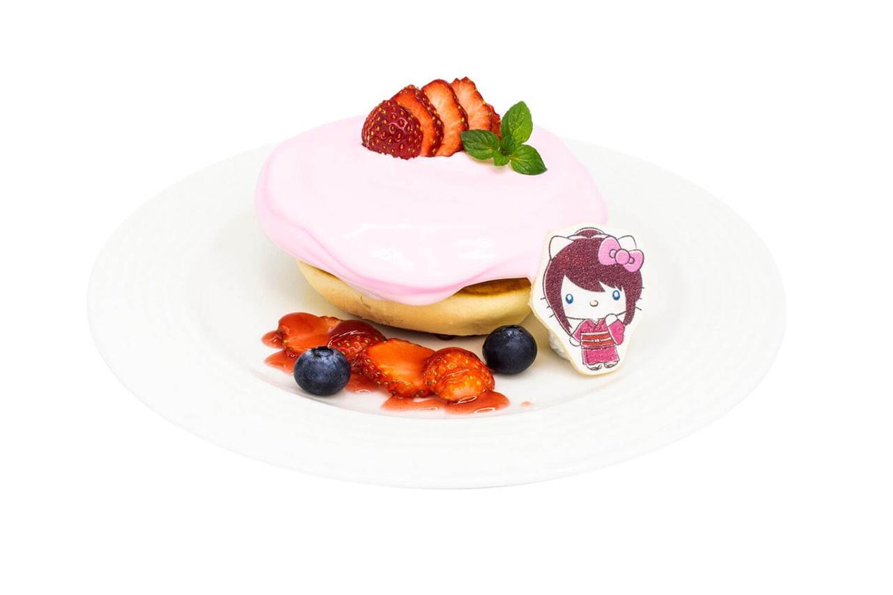 Rurouni Kenshin x Hello Kitty กับเมนูของหวานสุดน่ารัก
