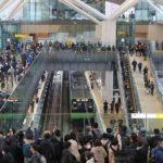 first opening day-Takanawa Gateway station