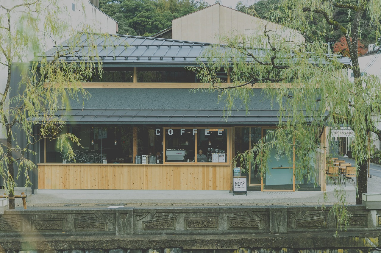 คาเฟ่ ใน คิโนะซากิออนเซ็น (Kinosaki Onsen) - Kinosaki Tokiwa Garden