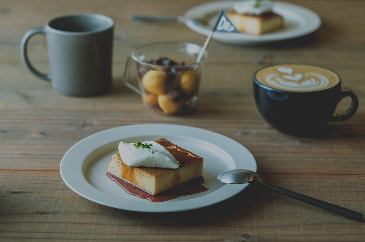 เมนูเครื่องดื่มและขนมหวาน จาก Kinosaki Tokiwa Garden