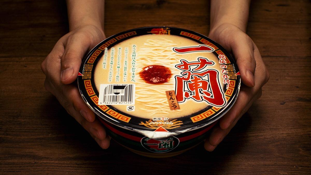 Ichiran Tonkotsu Cup Ramen ราเมนแบบกึ่งสำเร็จรูปครั้งแรกของอิจิรันราเมน