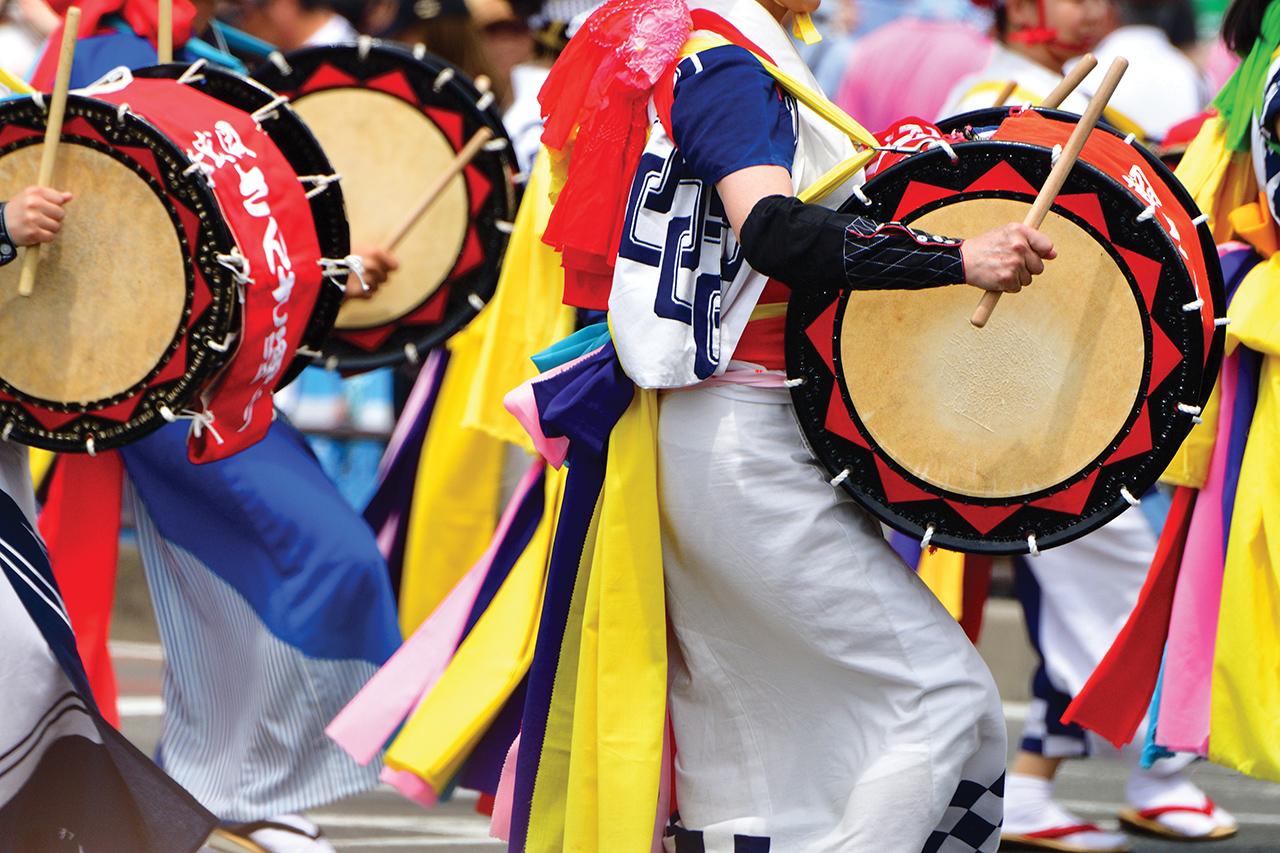 กิจกรรมห้ามพลาดใน จ.อิวาเตะ (Iwate) - ชมพาเหรดกลองไทโกะที่ยิ่งใหญ่ที่สุดในญี่ปุ่น Morioka Sansa Odori