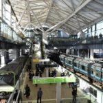 platform view-Takanawa Gateway Station