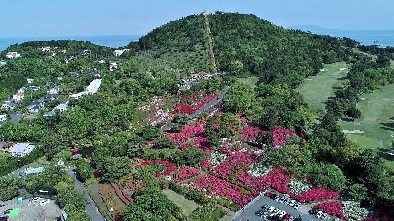 เพลิดเพลินกับวิวเมืองอิโตได้แบบ 360 องศากับ จุดชมวิว ที่ เขาโคมุโระ (Mt.Komuro)