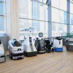 unmanned AI robot-takanawa gateway station