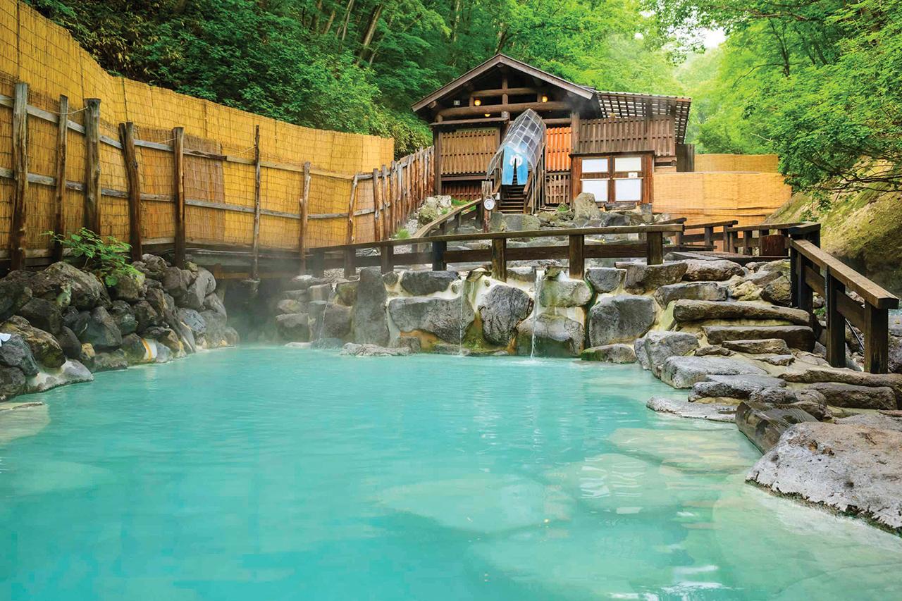 แช่น้ำพุร้อนที่ Zao Onsen